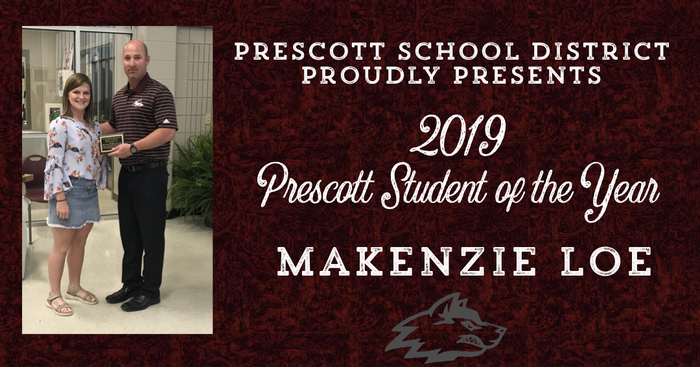 Prescott Student of the Year