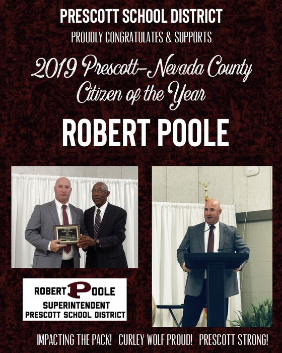Prescott- Nevada County Citizen of the Year